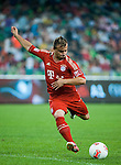 Xherdan Shaqiri of Bayern Munich in action during a friendly match against VfL Wolfsburg as part of the Audi Football Summit 2012 on July 26, 2012 at the Guangdong Olympic Sports Center in Guangzhou, China. Photo by Victor Fraile / The Power of Sport Images