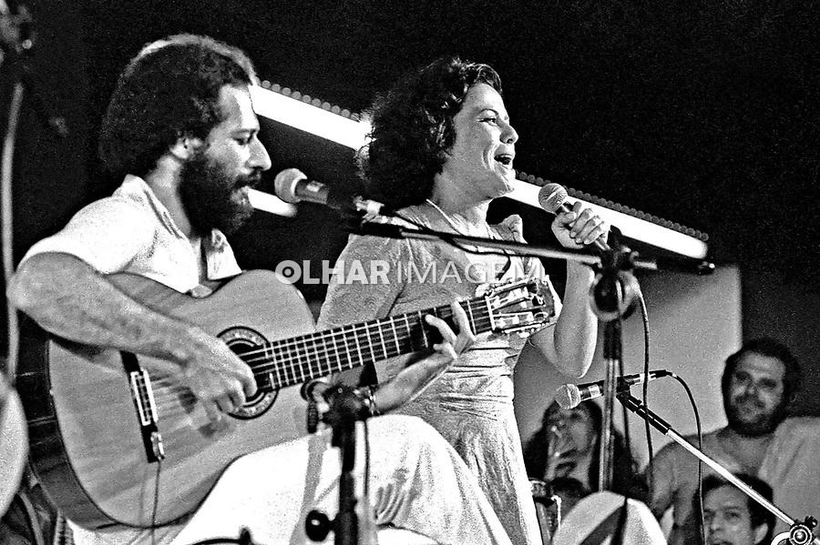 Show de Maio em apoio ao fundo de greve dos metalúrgicos do ABC, SBC. 07.05.1979. Foto de Juca Martins.