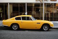 Cars: Aston-Martin, profile.