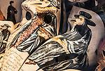 Painted Venetian Beak Mask, Venice Italy