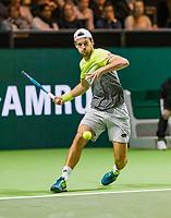 Rotterdam, Netherlands, 12 Februari, 2018, Ahoy, Tennis, ABNAMROWTT, Joao Sousa (POR)<br /> Photo:tennisimages.com