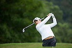 Jin Young Ko of South Korea tees off during Round 1 of the World Ladies Championship 2016 on 10 March 2016 at Mission Hills Olazabal Golf Course in Dongguan, China. Photo by Victor Fraile / Power Sport Images