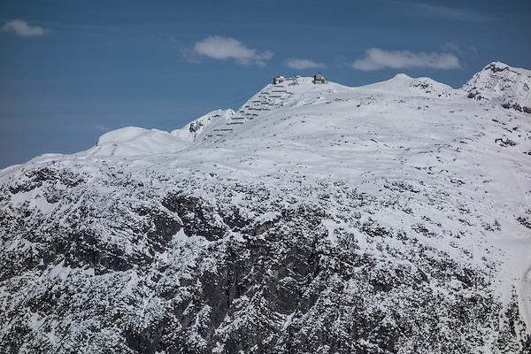 Rufikopf Bergstation at Lech Ski Areas, St Anton, Austria