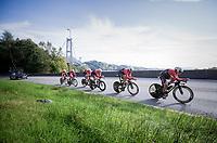 Team Trek-Segafredo<br /> <br /> Men's Team Time Trial<br /> <br /> UCI 2017 Road World Championships - Bergen/Norway