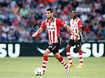 Nederland, Eindhoven, 21 juli 2015<br /> Oefenwedstrijd<br /> PSV-FC Eindhoven<br /> Gaston Pereiro van PSV in actie met bal