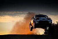 10th October 2020, Alghero, Sardinia, Italy; WRC Rally of Sardinia;   Katsuta  gets airborne