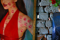 The walls of the tents and shacks of sex workers in the Bharatpur region of Rajasthan are adorned with posters of Bollywood Stars. The women in the profession are mostly from the Bedia caste, which traditionally sees its women enter the sex trade at the age of 13-14...