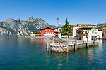 Italy, Trentino, Lake Garda, Torbole: Porto Vecchio   Italien, Trentino, Gardasee, Torbole: Porto Vecchio