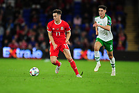 Tom Lawrence of Wales during the UEFA Nations League B match between Wales and Ireland at Cardiff City Stadium in Cardiff, Wales, UK.September 6, 2018