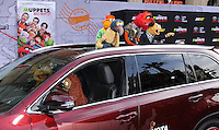 """HOLLYWOOD, LOS ANGELES, CA, USA - MARCH 11: Bill Barretta, Rowlf, Gonzo, Scooter, Walter, Animal at the World Premiere Of Disney's """"Muppets Most Wanted"""" held at the El Capitan Theatre on March 11, 2014 in Hollywood, Los Angeles, California, United States. (Photo by Xavier Collin/Celebrity Monitor)"""