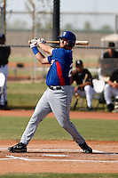 Thomas Mendonca - Texas Rangers 2009 Instructional League. .Photo by:  Bill Mitchell/Four Seam Images..