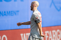 LAKE BUENA VISTA, FL - JULY 13: Michael Bradley #4 of Toronto FC waiting for the ball during a game between D.C. United and Toronto FC at Wide World of Sports on July 13, 2020 in Lake Buena Vista, Florida.