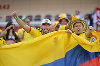 Santa Clara, CA - Friday June 03, 2016: during a Copa America Centenario Group A match between United States (USA) and Colombia (COL) at Levi's Stadium.