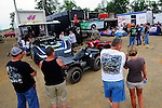 Jul 4, 2009; 6:37:39 PM; Bulls Gap, TN., USA; The Lucas Oil Late Model Dirt Series running a 10,000 to win race at Volunteer Speedway.  Mandatory Credit: (thesportswire.net)
