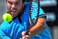 Zach Whaanga. 2019 Wellington Tennis Open at Renouf Centre in Wellington, New Zealand on Thursday, 19 December 2019. Photo: Dave Lintott / lintottphoto.co.nz
