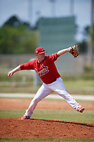 St. Louis Cardinals Mike O'Reilly (11) during a minor league Spring Training game against the New York Mets on March 28, 2017 at the Roger Dean Stadium Complex in Jupiter, Florida.  (Mike Janes/Four Seam Images)