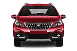 Car photography straight front view of a 2016 Peugeot 2008 Allure 5 Door SUV Front View