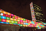 SDG Projections: Massive scale projections and  peoples' voices to celebrate UN70 and visually depic