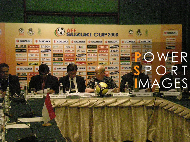 Thailand vs Indonesia during the AFF Suzuki Cup 2008 Semi-finals - 2nd leg match at Rajamangala Stadium on 20 December 2008, in Bangkok, Thailand. Photo by Stringer / Lagardere Sports
