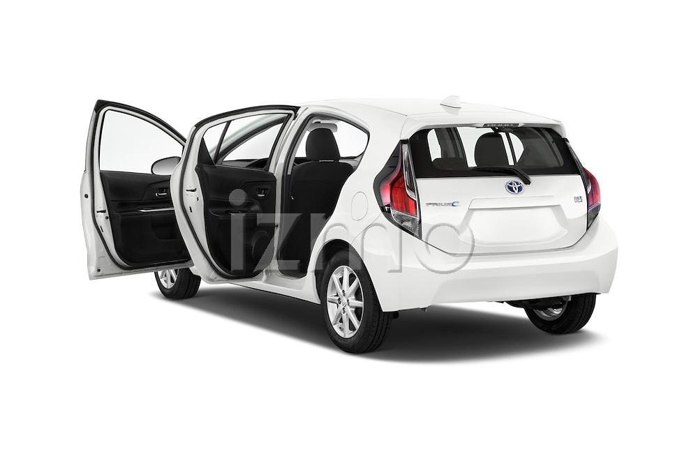 Car images of a 2015 Toyota Prius c Three 5 Door Hatchback Doors
