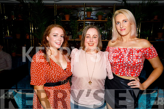 Michelle Courtney from Tralee celebrating her birthday on Saturday in The Ashe Hotel.<br /> L to r: Lorraine Carroll, Michelle Courtney and Rose Quirke.