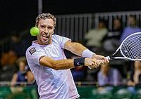 Rotterdam, The Netherlands, 9 Februari 2020, ABNAMRO World Tennis Tournament, Ahoy, Qualyfying round: Mikhail Kukushkin (KAZ)<br /> Photo: www.tennisimages.com