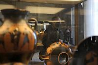 CoviTime.<br /> Musei Vaticani al tempo del Coronavirus.<br /> Vatican Museum at the time of the Coronavirus.