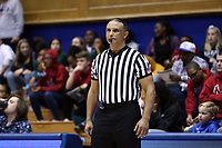 DURHAM, NC - JANUARY 26: Official Billy Smith during a game between Georgia Tech and Duke at Cameron Indoor Stadium on January 26, 2020 in Durham, North Carolina.