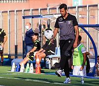 Como 17-09-2021<br /> Stadio Giuseppe Sinigaglia <br /> Campionato Serie BKT 2021/22<br /> Como - Frosinone<br /> nella foto:  Fabio Grosso allenatore trainer Frosinone Calcio\                         <br /> foto Antonio Saia -Kines Milano