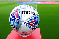 The Official mitre match ball for the Sky Bet Championship match between Sheffield United and Swansea City at Bramall Lane, Sheffield, England, UK. Saturday 04 August 2018