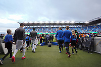 SAN JOSE, CA - MARCH 7: Minnesota United and San Jose Earthquakes during pre-game ceremonies during a game between Minnesota United FC and San Jose Earthquakes at Earthquakes Stadium on March 7, 2020 in San Jose, California.