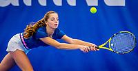 Amstelveen, Netherlands, 17  December, 2020, National Tennis Center, NTC, NK Indoor, National  Indoor Tennis Championships,   : Florentine Dekkers (NED) <br /> Photo: Henk Koster/tennisimages.com
