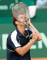 13-7-08, Scheveningen, ITS, Tennis Siemens Open 2008,  Jesse Huta Galung gaat uit zijn dak nadat hij de finale heeft gewonnen