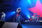 performs during their 1st L.A. concert in nearly 10 years to a sold out crowd, the concert is a benefit to help Arizona Organizations fight SB1070 . The show was held at The Hollywood Palladium in Hollywood, California on July 23,2010                                                                   Copyright 2010  DVS / RockinExposures