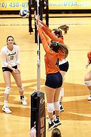 SAN ANTONIO, TX - OCTOBER 27, 2019: The Marshall University Thundering Herd defeat the University of Texas at San Antonio Roadrunners 3-0 (25-23, 25-19, 25-21) at the UTSA Convocation Center. (Photo by Jeff Huehn)