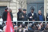 Pierre Tartakowsky - Rassemblement 'Avec Theo et les autres victimes' et contre les violences policiËres, le 18 fÈvrier 2017, Place de la RÈpublique ‡ Paris.