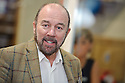 SIR BRIAN SOUTER MAKES A SPEACH BEFORE OFFICIALLY OPENING THE NEW AIRDRIE SAVINGS BANK IN FALKIRK. <br /> <br /> THE BRANCH IS THE FIRST TO BE OPENED OUTSIDE THE UK'S ONLY INDEPENDENT BANK'S TRADITIONAL LANARKSHIRE BASE.