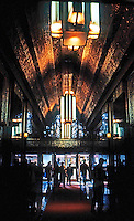San Francisco:   450 Sutter St. Lobby.   Photo '83.