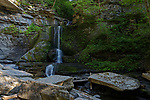 Cowsheds waterfall, Fillmore Glen State Park, Moravia, New York, USA