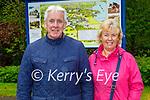 Enjoying a stroll in Muckross Gardens in Killarney on Sunday, l to r: John and Margaret  Murphy.