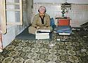 Iran 1990 <br /> Nechirvan Ahmed in his office of Rajan <br /> Iran 1990 <br /> Nechirvan Ahmed dans son bureau-chambre de Rajan