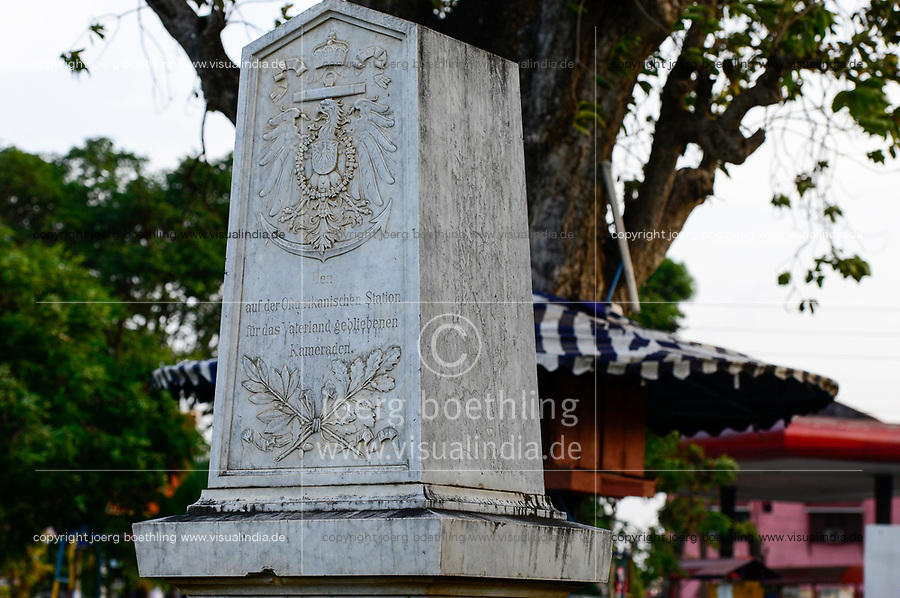 TANZANIA Tanga, former german colony East Africa, colonial german world war I memorial