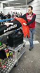 Sochi 2014.<br /> Team Canada arrives at the airport in Sochi for the Sochi 2014 Paralympic Winter // Équipe Canada arrive à l'aéroport de Sotchi pour Sochi 2014 Jeux paralympiques d'hiver. 03/03/2014.