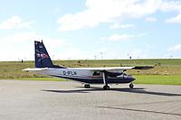 FLN Linienmaschine auf dem Flughafen von Harle  - Wangerooge 20.07.2020: Flug nach Wangerooge