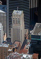 aerial photograph Shell Building 100 Bush Street San Francisco