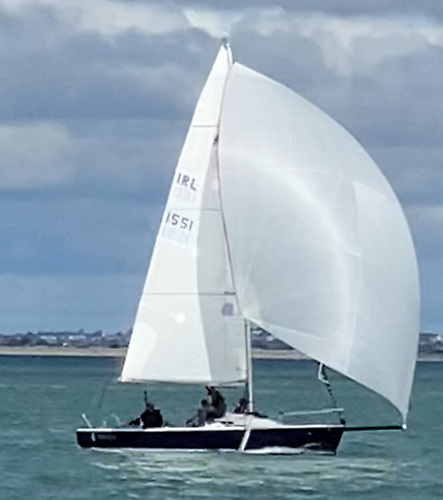 1st Mojo IRL 1551 Howth Yacht ClubPatrick O' Neill