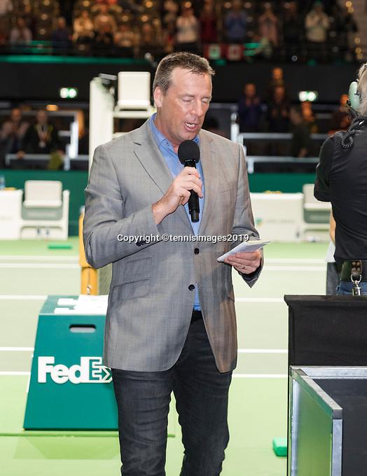Rotterdam, The Netherlands, 14 Februari 2019, ABNAMRO World Tennis Tournament, Ahoy, Edward van Kuilenborg,<br /> Photo: www.tennisimages.com/Henk Koster