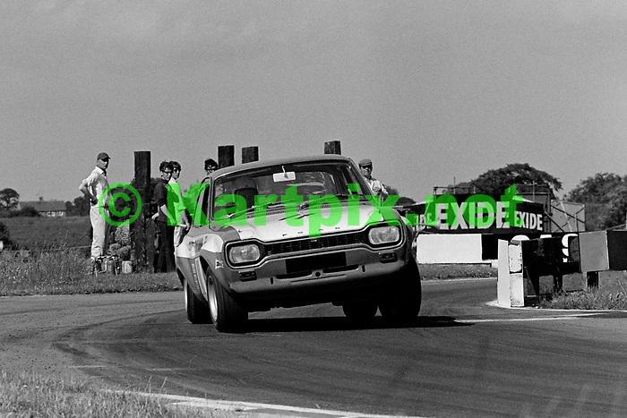 Rod Mansfield, British touring cars Croft 1969.