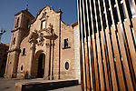 Fachada de la Iglesia de Santa Eulalia. Murcia.