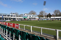 General view of the ground ahead of Essex CCC vs Lancashire CCC, Friendly Match Cricket at The Cloudfm County Ground on 25th March 2021